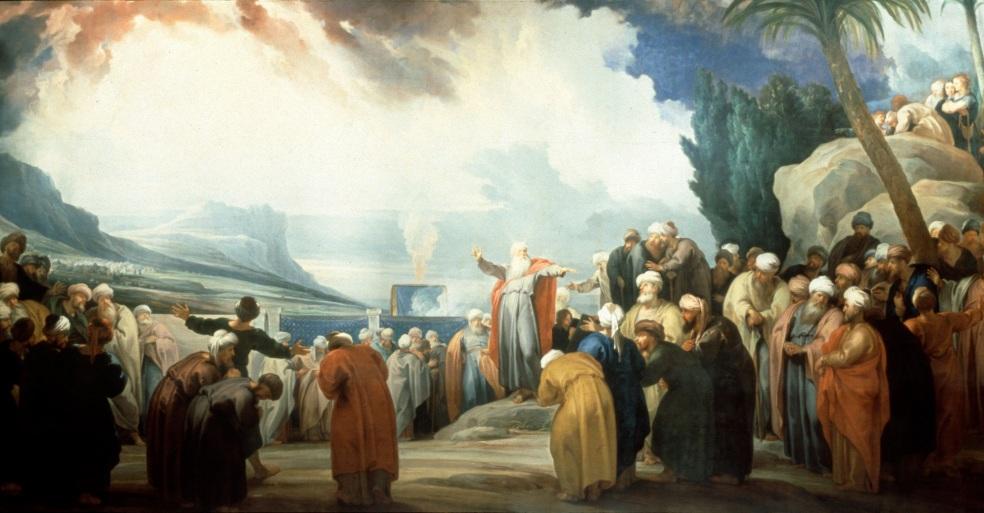 Eldad and Medad Prophesied in the Camp