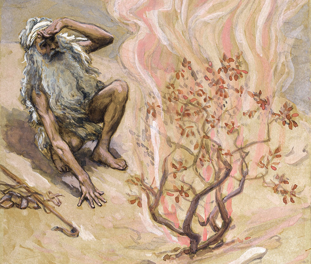 The Burning Bush: Why Must Moses Remove His Shoes?