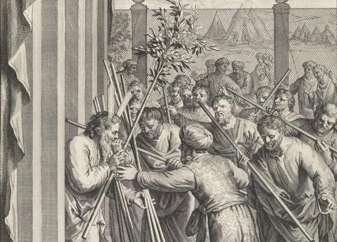Korah's Poetic Rebellion and God's Flowery Response