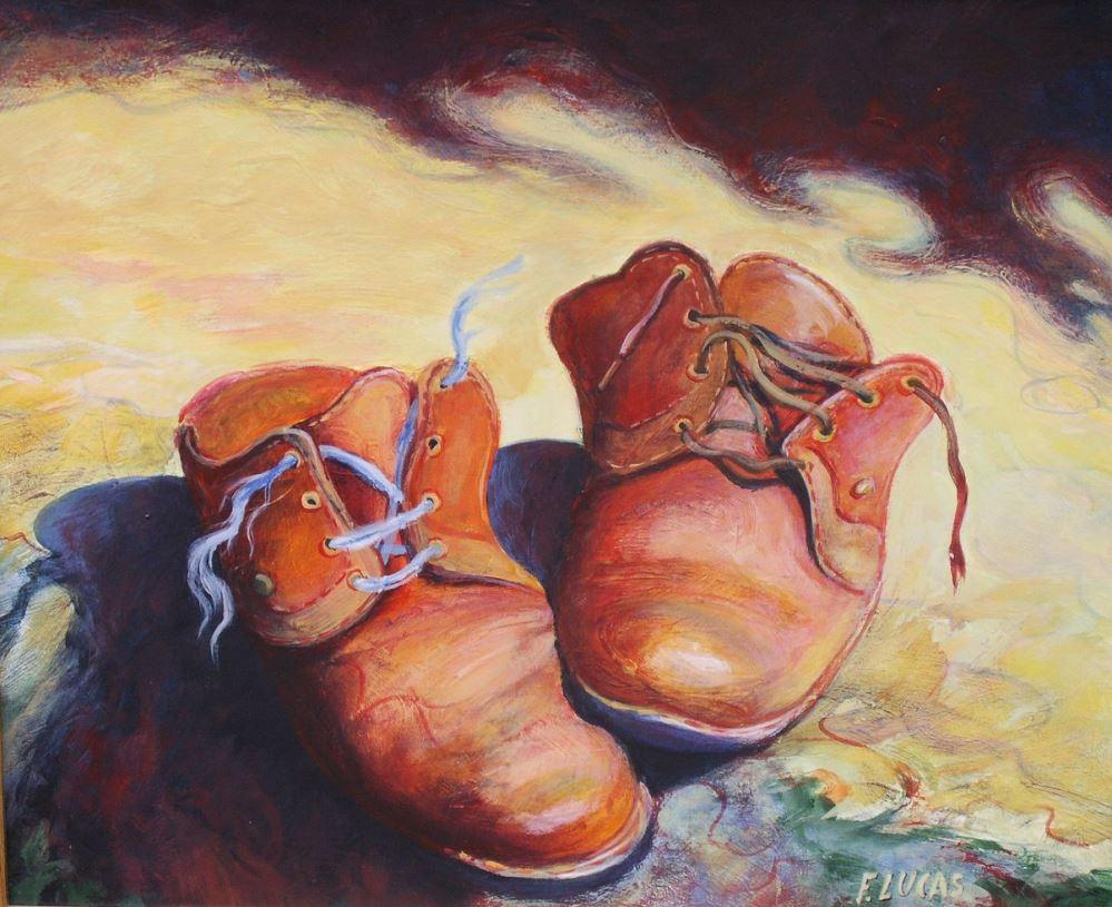 Shoeless on Yom Kippur