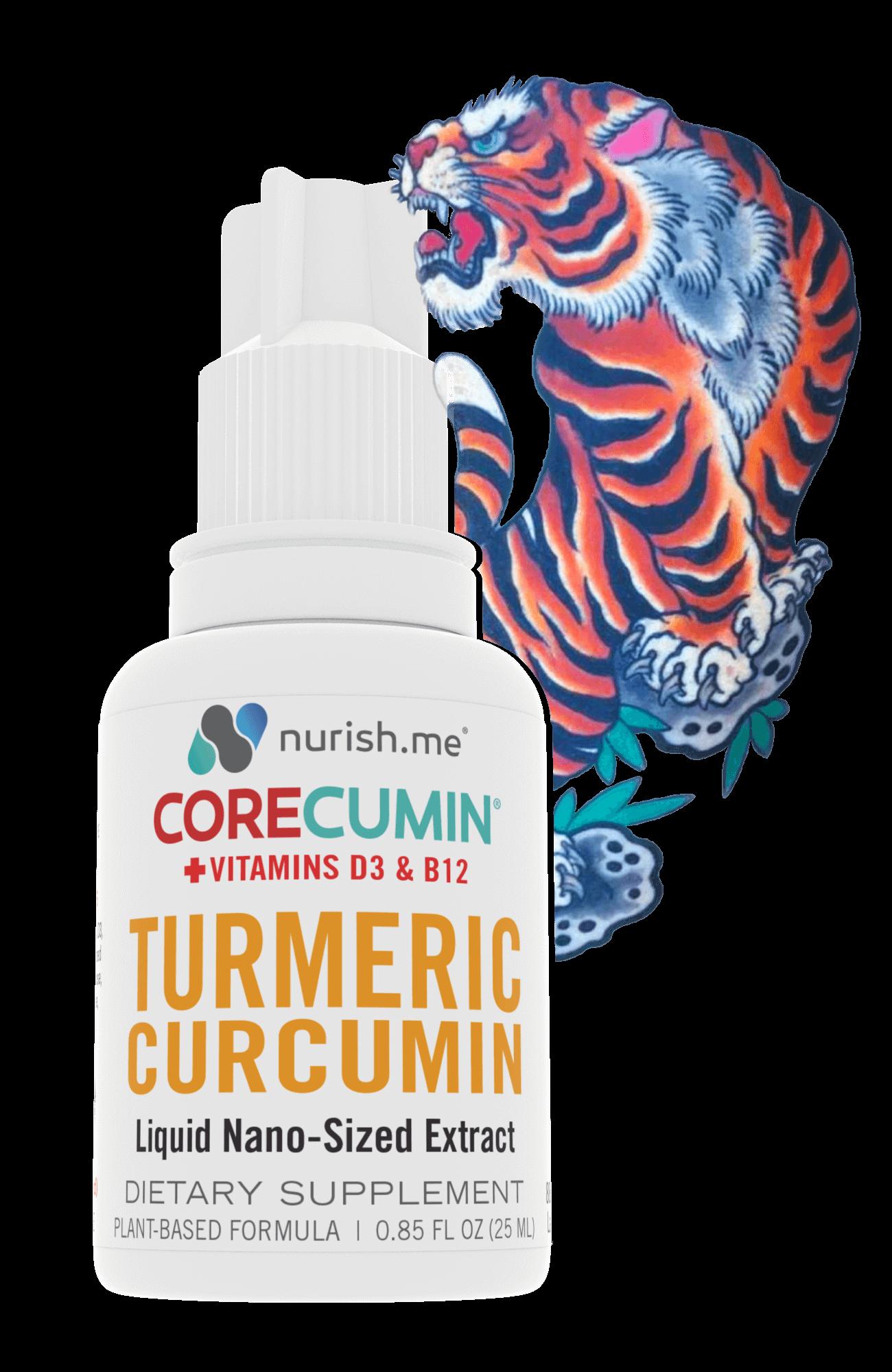 CoreCumin® Ami James Tiger Edition for Healthier Tattoos