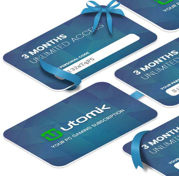 Utomik giftcards