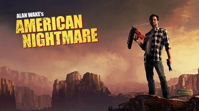 Alan Wake's American Nightmare visual