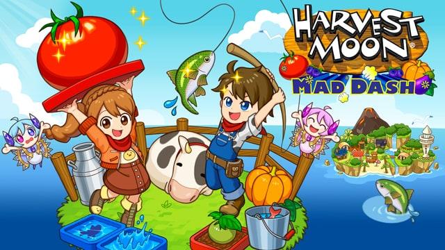 Harvest Moon: Mad Dash visual