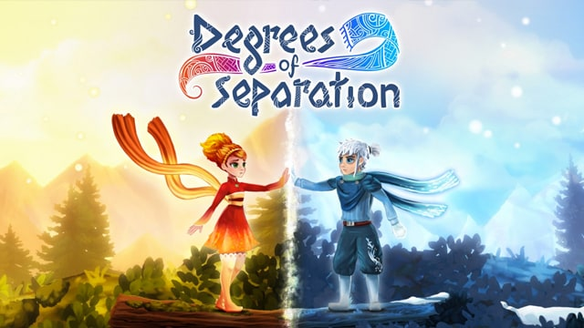 Degrees of Separation visual