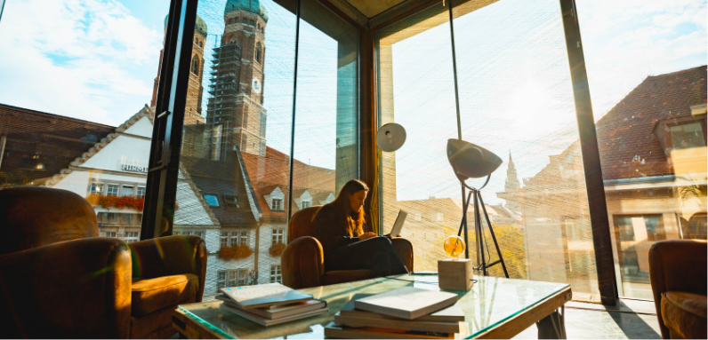 Wayra Germany office view