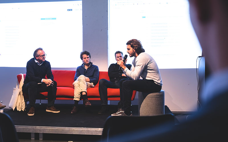 Investment table, Wayra co-investor event