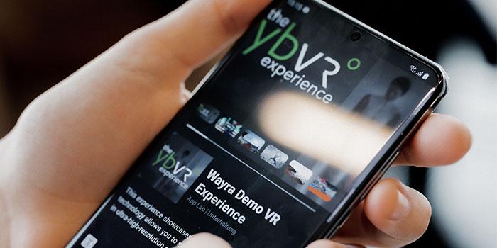 YBVR, VR 5G use case