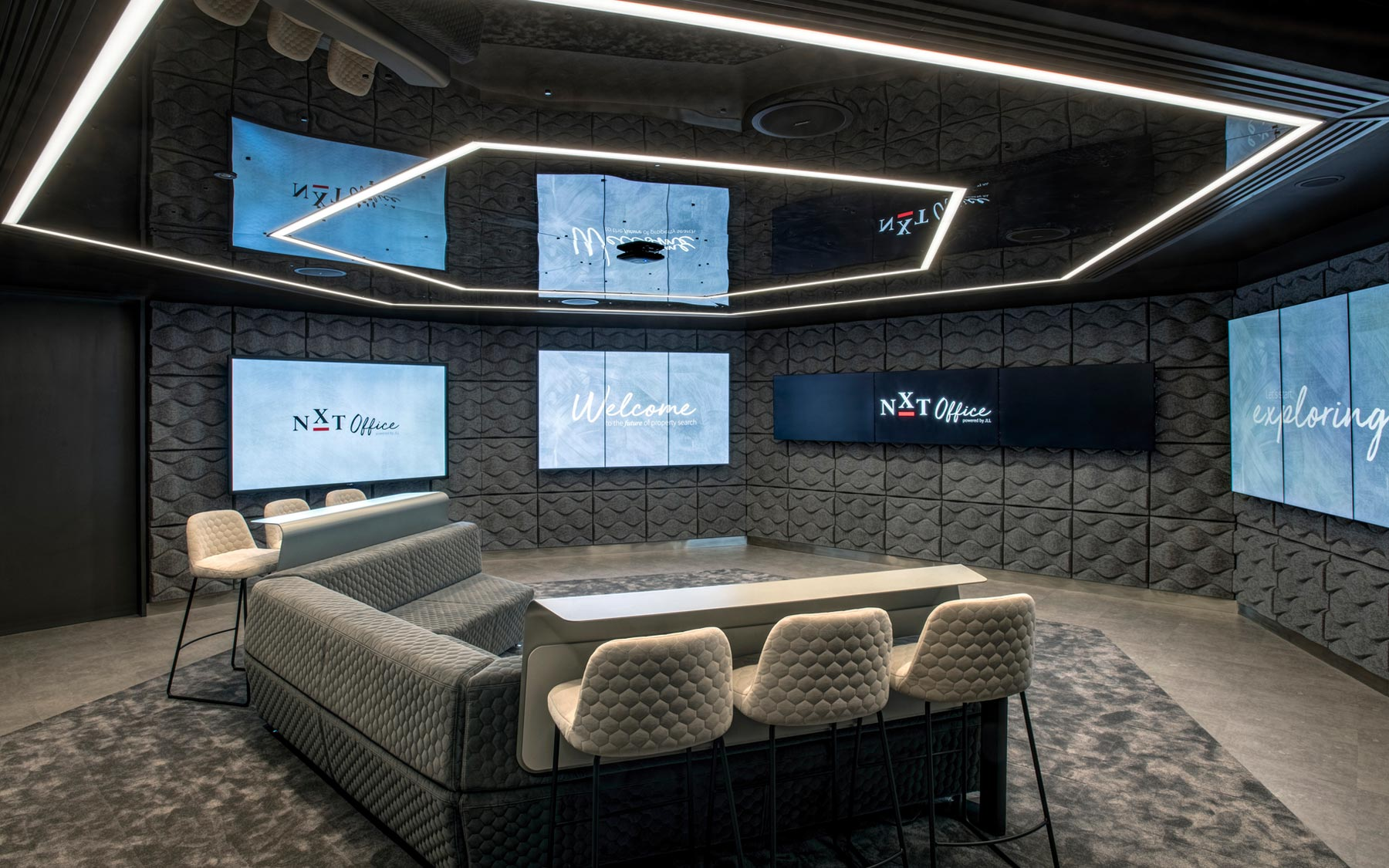 This is the NXT Office at JLL