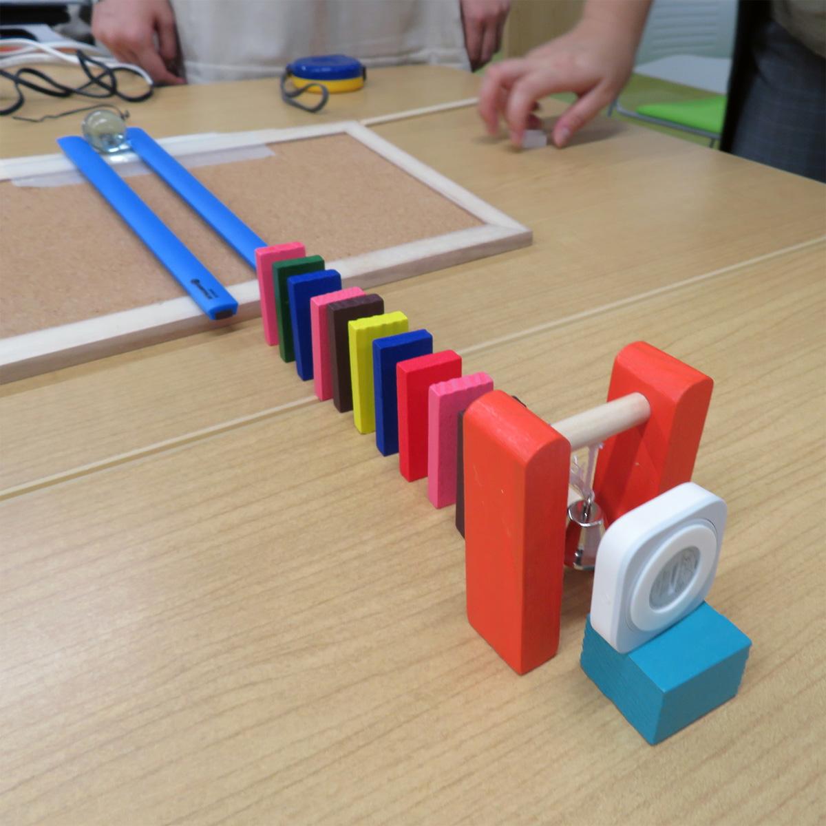 ビー玉を使った装置の例