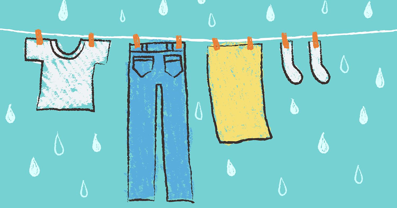 雨に濡れる前に外干し洗濯物を取り込む仕組みが完成!ー余計な家事が増えないと雨でも気分は上々ー <テレワーク主婦のおうちIoTレポート2>
