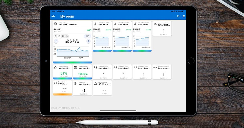 エッジBIツール「Gravio Monitor」を提供開始! 設定不要、無償ですぐ使えるGravio専用のモバイルアプリです。