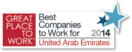 Great Place to Work Award 2014