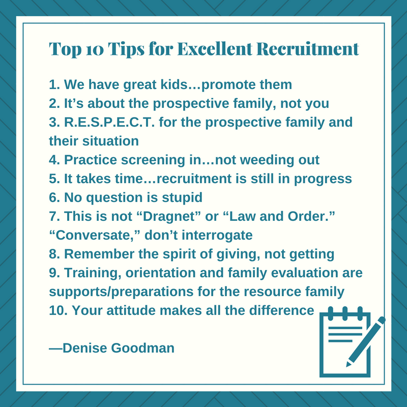 Top 10 Tips for Excellent Recruitment
