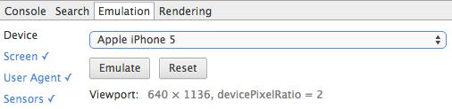 Adaptive Responsive Chrome