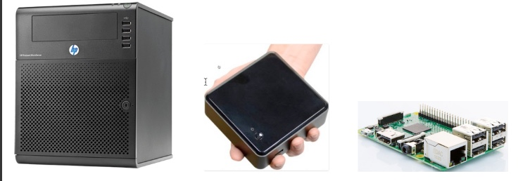 OnPrem Hardware Evolution