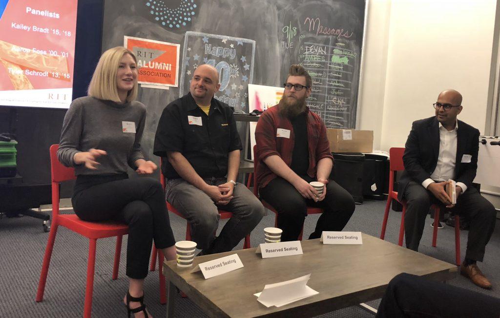 Image of panelists
