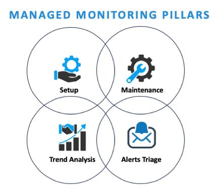 managed monitoring pillars