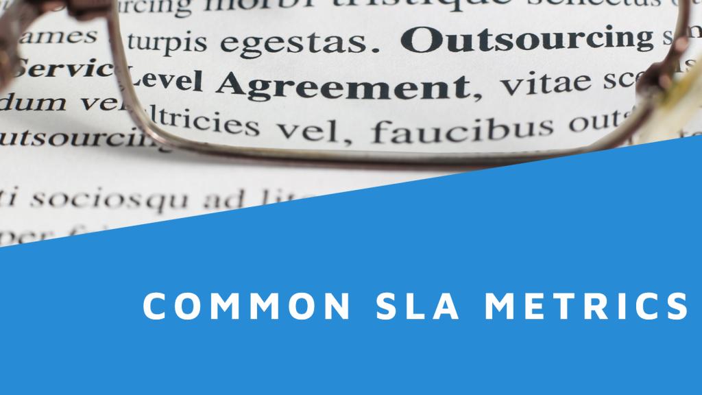 Common SLA Metrics