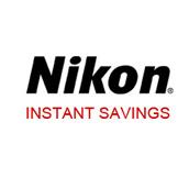C - Nikon instant savings