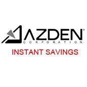J - Azden instant savings