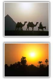 Picture of sunset and sunrise