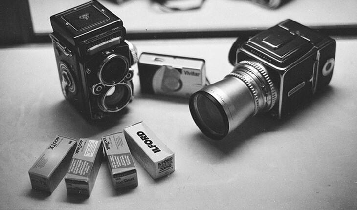 Black & white film