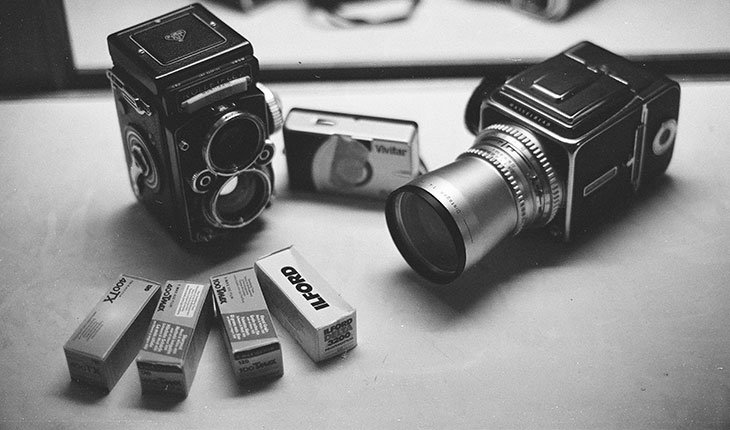 black & white film