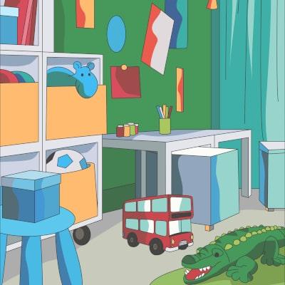 Kinderzimmer Streichen | Lesezeit ca. 3 Minuten