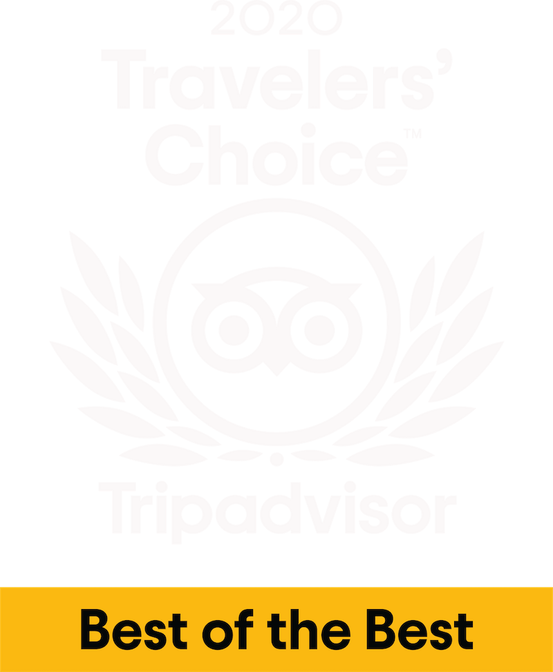 Tripadvisor 2020 Traveler's Choice Award - Best of the Best