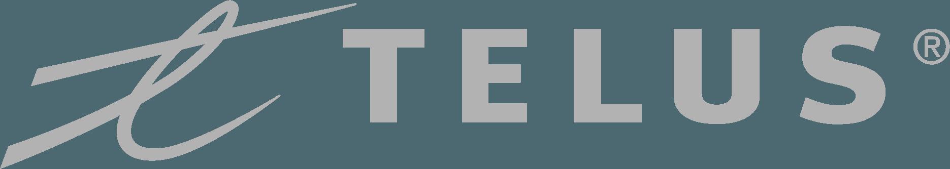 logo pour la santé de telus en gris