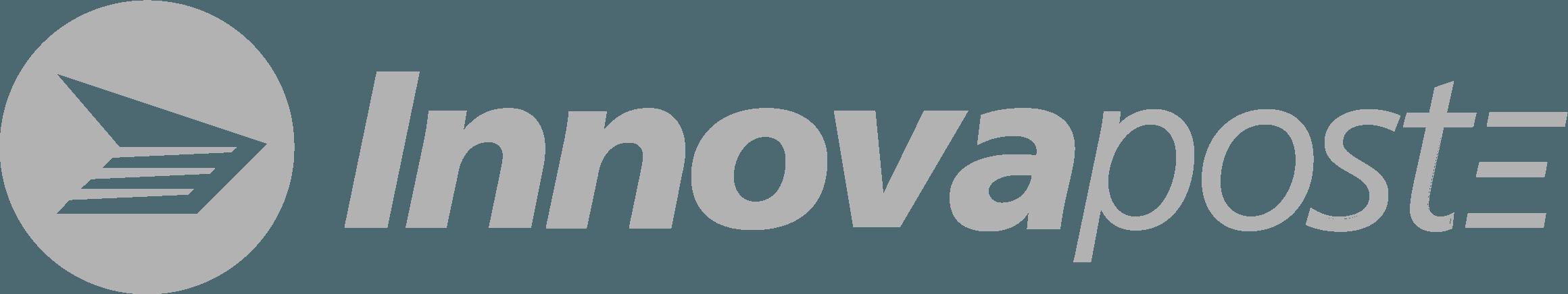 logo d'innovapost en gris