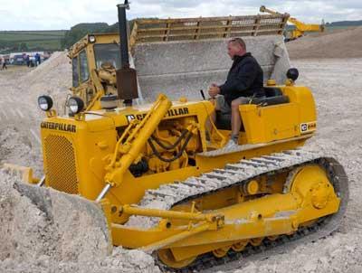 Moteur pour bulldozer Caterpillar D4D