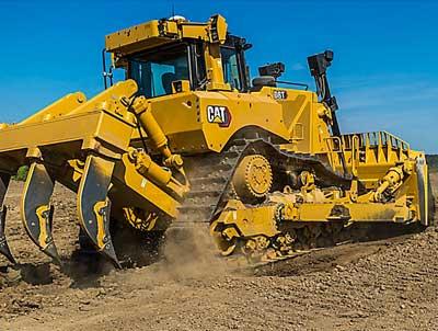 Moteur pour bulldozer Caterpillar D8T