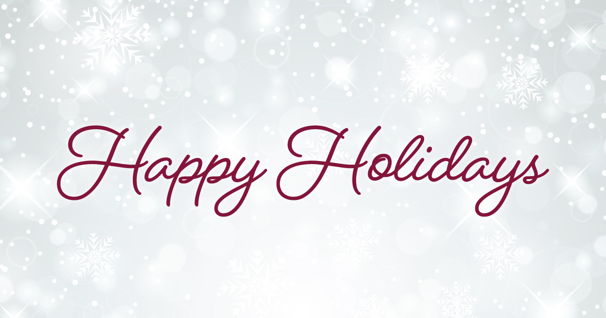EARLY RELEASE DAYS: Thursday, December 20 and Friday, December 21