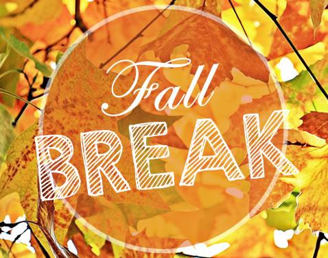 No School October 14th - 18th