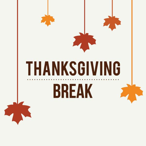 THA Thanksgiving Holiday November 25 - November 29