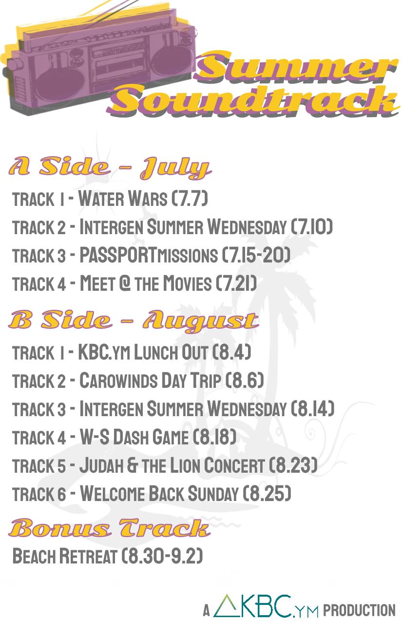 KBC ym Summer Soundtrack - Knollwood Baptist Church