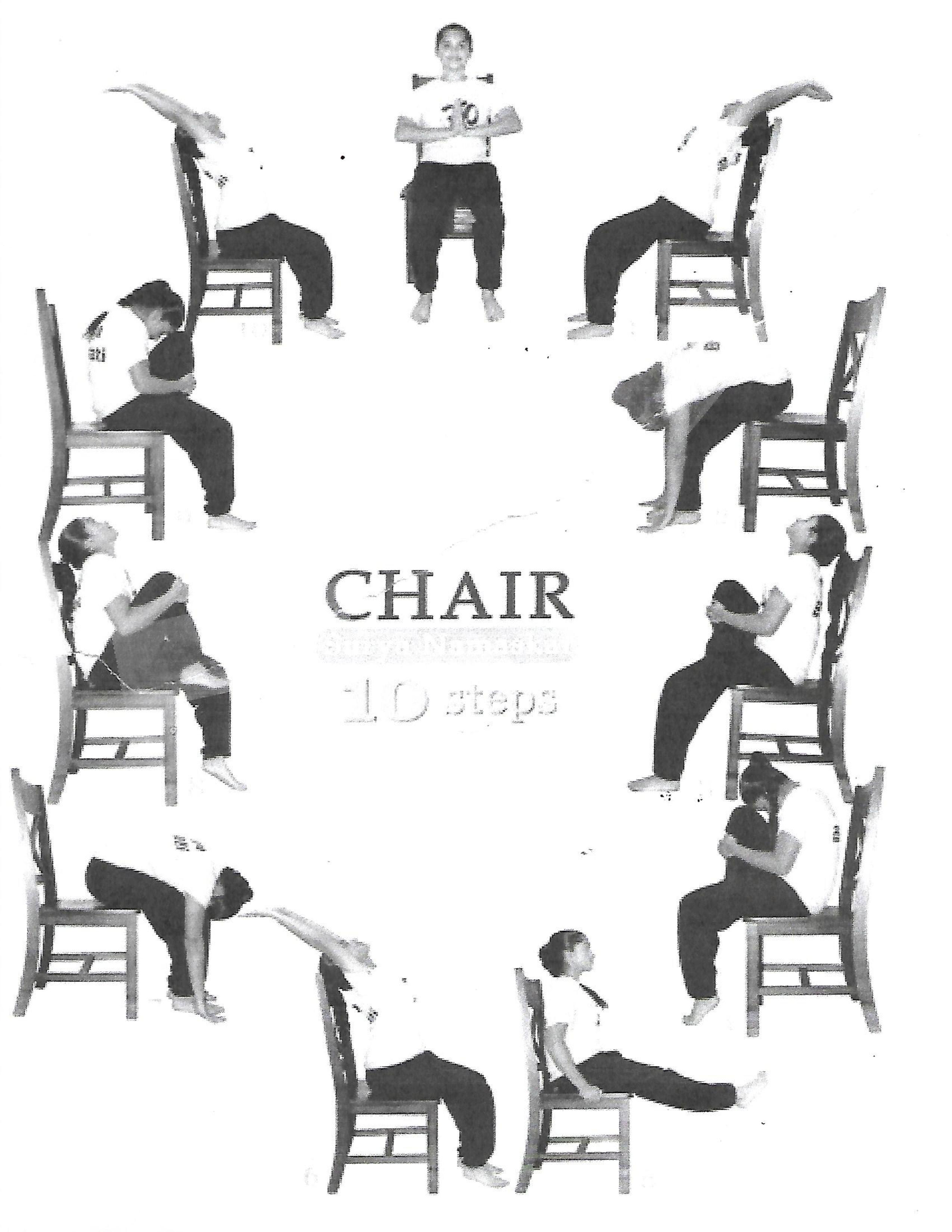 Chair Yoga Poses Pdf