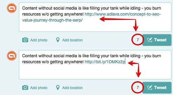 twitter url comparison