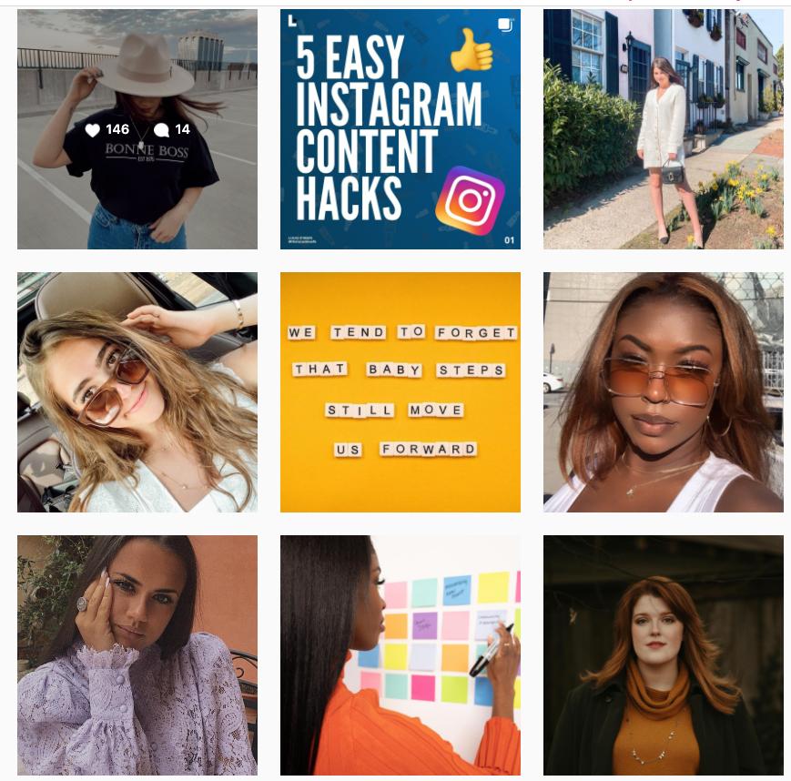 top 9 posts for #socialmediatips