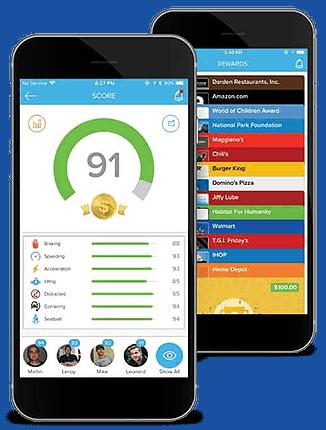 Azuga fleet tracking driver app
