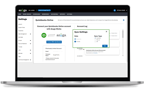 Field Service Management Business Software for reporting and data insights