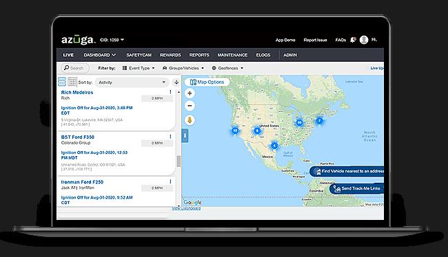 Affordable GPS Fleet Tracking