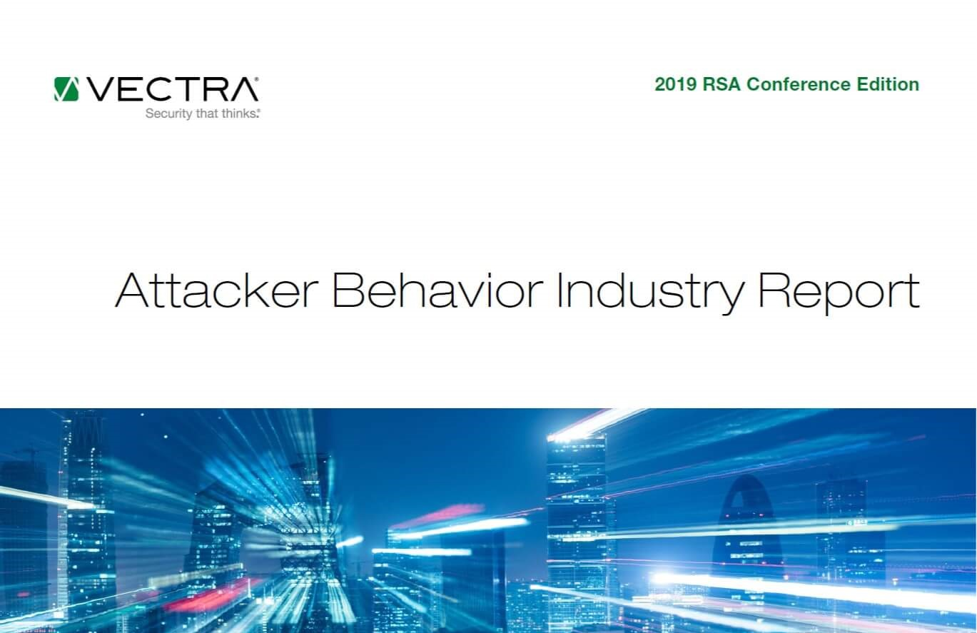 Image of first page of Attacker Behavior Industry Report 2019 RSA Conference Edition