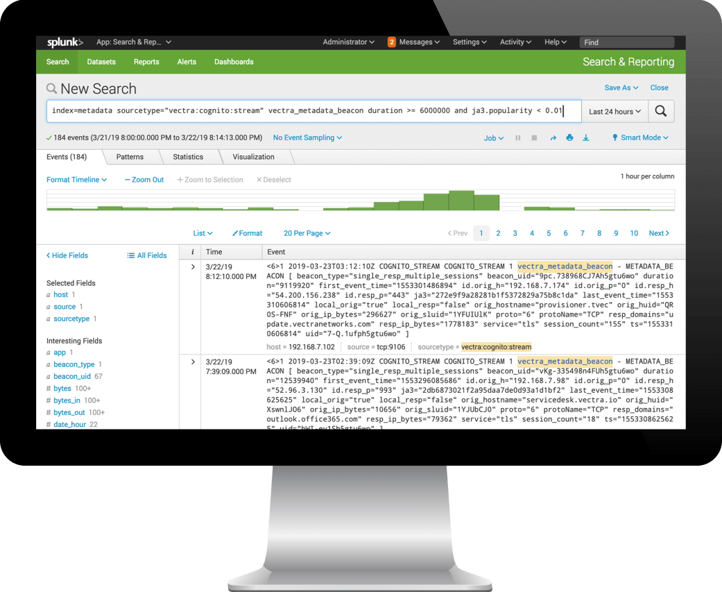 Cognito Stream for Splunk