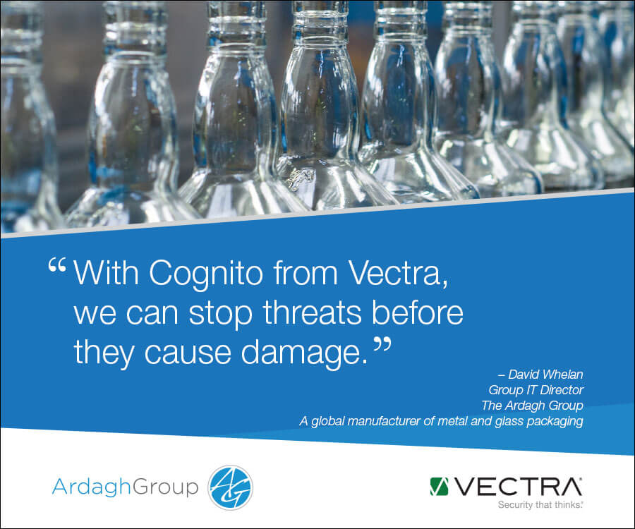 """with Cognito from Vectra, c=we can stop threats before they cause damage"""