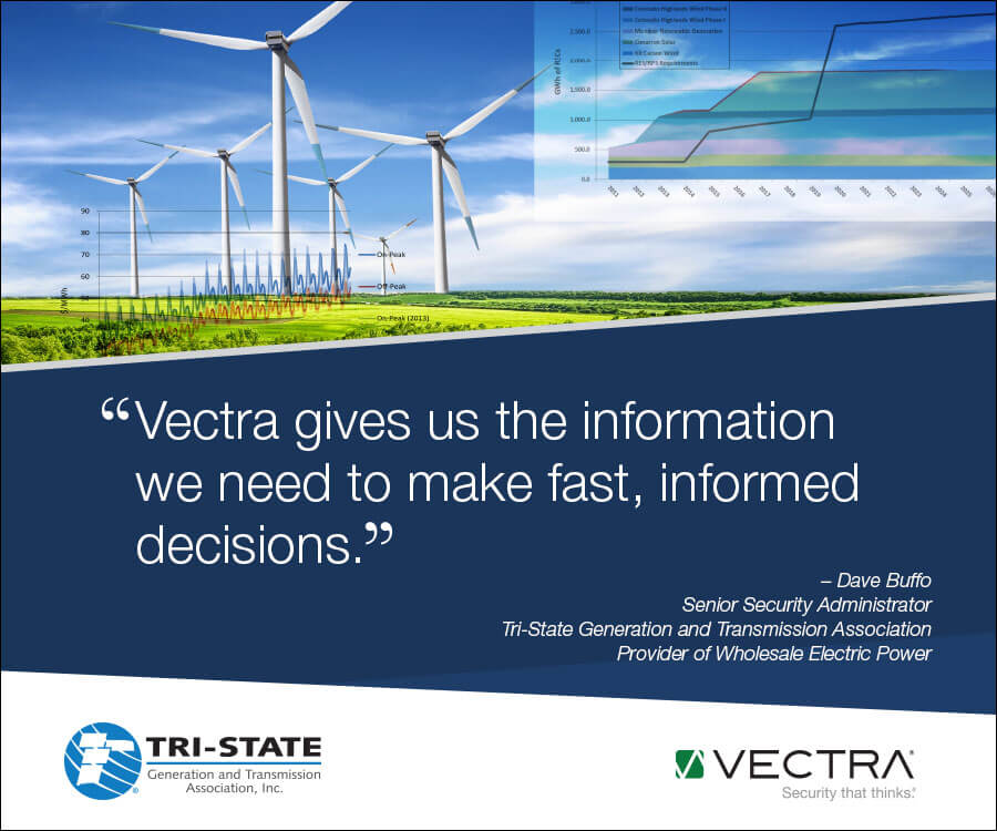 """Vectra gives us the information we need to make fast, informed decisions"""