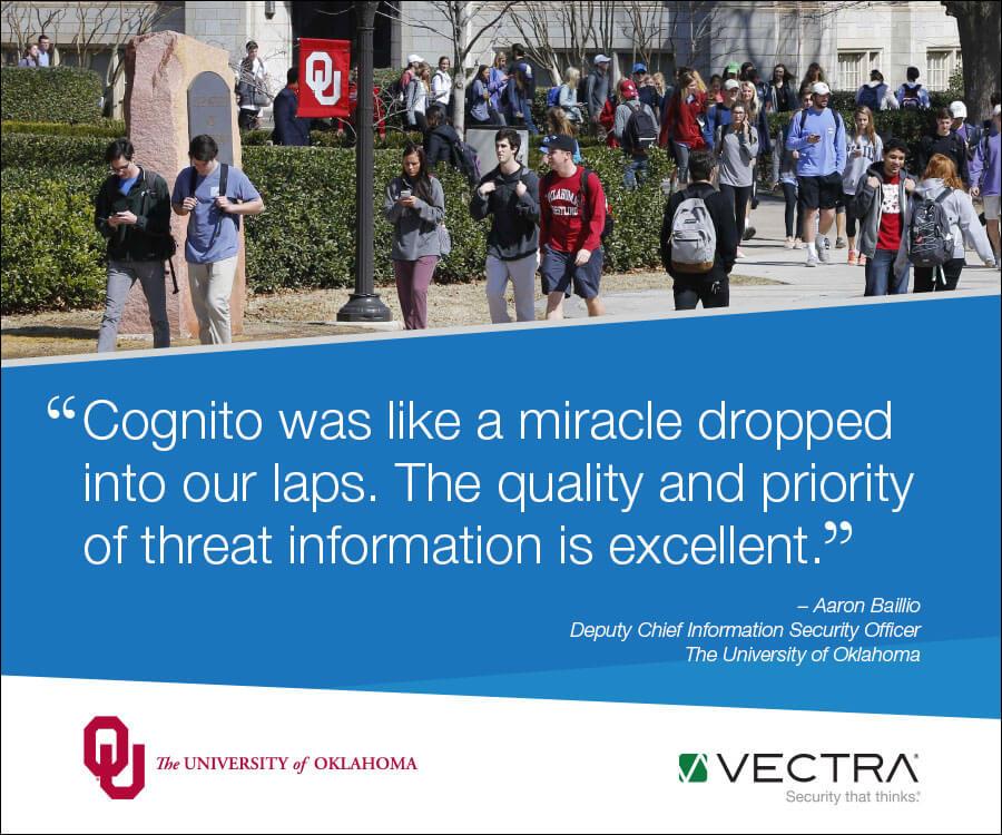University of Oklahoma - Vectra Case Study