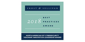 2018 Visionary Innovation Leadership Award from Frost & Sullivan